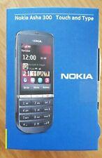 Nokia  Asha 300 - Graphite (T-Mobile) Handy touch and type Handy Mobiltelefon