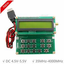 35MHz-4000MHz RF Signal Generator Signal source ADF4351 vfo Hxy D6 V1.02 S