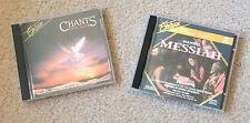 2 CD Set Excelsior Handel Messiah + Excelsior Chants for Life -Hofburgkapelle CD