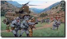 Bastogne Rendezvous - Battle of the Valleys (A/P) by Larry Selman - Afghanistan