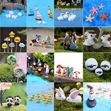 animal garden. Variou Mini Dollhouse Fairy Garden Landscape Terrarium Figurine Bonsai DIY Decor Animal