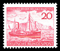 EBS Germany 1952 Heligoland German again; Fisheries Michel 152 MNH** cv $24.00