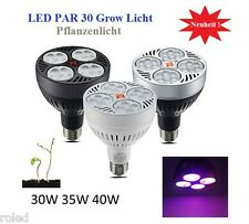 40 Watt LED Pflanzenlampe 6 Band Frucht Blüte Full Spectrum Grow E27 Lampe 40W D