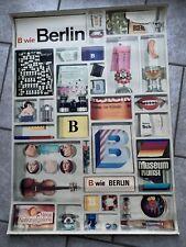Plakat Poster Berlin 70iger Essen Trinken Kultur Theater Museum