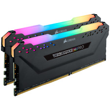 Corsair Vengeance RGB PRO 32GB 2x16GB 3200Mhz DDR4 Desktop Memory RAM Kit Black