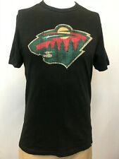 "New '47 Minnesota Wild Men's Short Sleeve ""Bear Logo"" T-Shirt, Large"