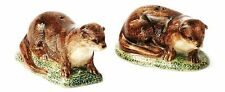 More details for otter salt and pepper pots quail new gift boxed clearance
