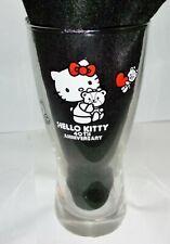 Hello Kitty 40th anniversary Glass Tumbler cup Sanrio 2014