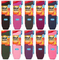 Heat Holders - Donna Invernali Caldi Termici Extra Lunghi Colorati Calzini
