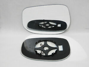 Wing Mirror Glass For HONDA JAZZ 2008-2014 Convex Left Side + Plate /JH032