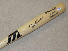 Tom Glavine Mizuno Signed Game Bat Atlanta Braves HOF PSA DNA