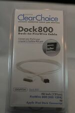 iPod DOCK to FireWire 800 Cable iPod photo iPod mini Griffin