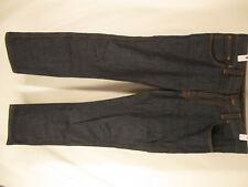Nudie Slim Jim Mens Blue Jeans Size 32 35x34 Italy Made