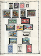 New Zealand Collection on Pages 1882-1972 Many MNH in Mounts