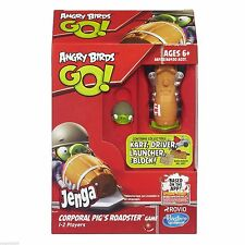Rovio Hasbro Gaming Angry Birds Go! Jenga Corporal Pig's Roadster Game A6432