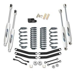 "Pro Comp 4"" Stage 1 Lift Kit w/ ES3000 Shocks 97-02 Jeep Wrangler TJ K3056B"