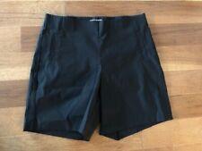 """Woman's Black Shorts by """"ELLE"""" Size L EUC"""