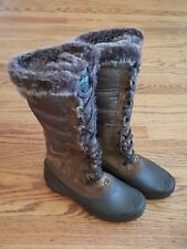 New The North Face Womens Shellista II Tall Boots Brown US 7 shoes extra narrow