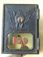 Yale / Towne Post Office Box Door 1895