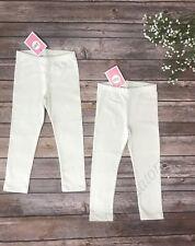 e608f89d69124 Set of 2 Circo leggings Almond Cream off white bottoms New Size 2T Girls  Kids