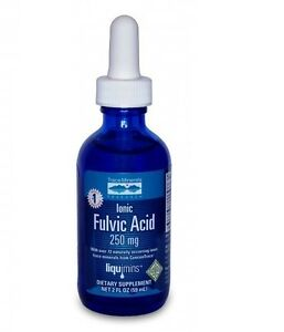 Trace Mineral Research Liquid Ionic Fulvic Acid with ConcenTrace® 2 oz.