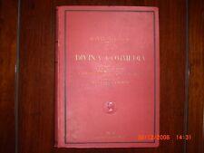 LA DIVINA COMMEDIA ILLUSTRATA  DA GUSTAVE  DORE' 1927  Edizione Sonzogno