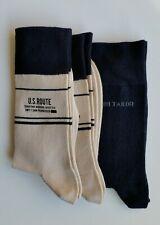 Tom Tailor Herren Socken 3 Paar Gr. 39-42 dkl.blau uni 1x und beige/schwarz 2x