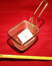 Mini Square French Fries Basket Fried Food Frying Net Fryer Strainer US Seller