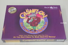 New Sealed Rich Dad Cashflow 101 Board Game by Robert Kiyosaki Financial Freedom