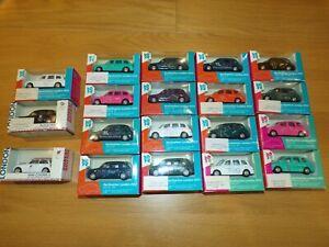 19x lot Corgi London 2012 Olympics London Black cab taxi Mini cooper NIB 1/64