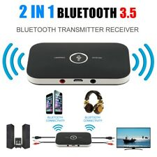 2 en 1 Hifi Sans Fil Bluetooth Audio Émetteur Récepteur 3.5mm RCA stereo tv mp3