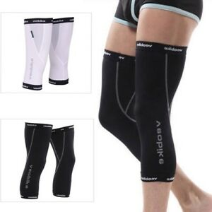 Cycling Knee Warmers Sport Running Leg Cover Warmer Thermal Sun Protection M-XXL