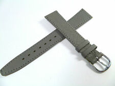 17 mm Gris Bracelet de montre cuir de Veau Bracelet de montre cuir 1754