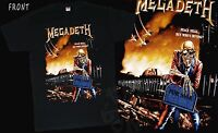 MEGADETH-Peace Sells... but Who's Buying? ,T_shirt-SIZES:S to 6XL