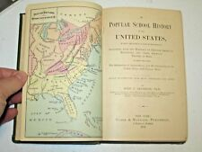 (1879) ANDERSON'S Popular History Of the United States including history of VT