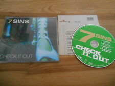 CD Pop 7 Sins - Check it Out (4 Song) MCD BMG / SEVEN DAYS +Presskit