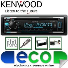 Ford-Max 2004 C - 2011 KENWOOD CD MP3 USB AUX Grigio Fascia Pannello KIT STEREO AUTO