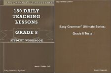 Easy Grammar Ultimate Series: 180 Daily Lessons Grade 8 SET - Workbook & Tests