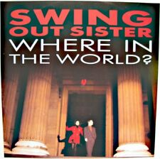 SWING OUT SISTER where in the world/taxi town/the windmills of your mind MAXI NM