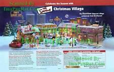 Simpsons Christmas Village: Bart Homer: Great Print Ad!