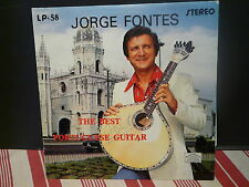 JORGE FONTES The best portuguese guitar LP58 Pressage Portugal Dédicacé devant