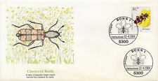 Germany 1984 #B-616 Checkered Beetle Insect Nature FDC First Day Cover