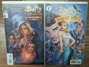 BUFFY The Vampire Slayer - Chaos Bleeds & BUFFY #20 - J. Scott Campbell VARIANTs