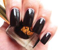 Estee Lauder Pure Color Nail Lacquer Black Iris Topcoat NEW & Boxed ***RARE
