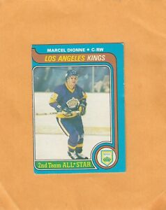1979-80 O PEE CHEE MARCEL DIONNE AS2 NO:160 Ex cond+   see scan   LOT 89