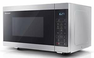 Digital Solo Microwave Oven with 25 Litre Capacity, 900 W (Silver)