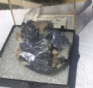 Molybdenite From Bingham Mine Toole Co. Utah Mineral Specimen Old Find!
