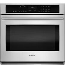 "Monogram 30"" Stainless Steel Single Electric Convection Wall Oven - Zet9050Shss"