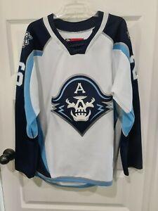 CCM Milwaukee Admirals Hockey Player Jersey Battles 26 AHL Adult Medium M White
