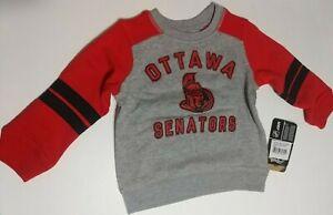 🏒Outerstuff NHL Ottawa Senators  Toddler Retro Crew Sweatshirt 2T New with Tags